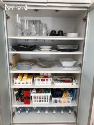 食器棚 防災備蓄 食器棚収納