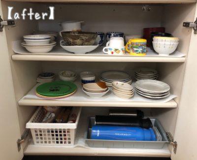 キッチン背面 食器棚収納