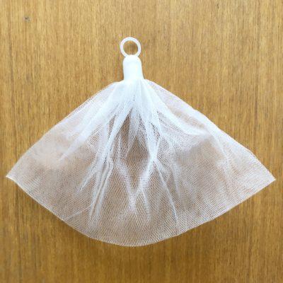 無印良品 洗顔用泡立てネット 石鹸 吊るす収納