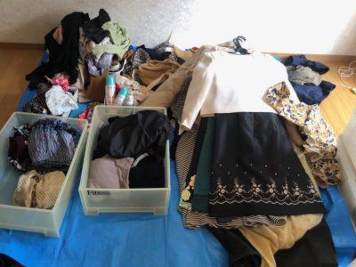 衣類の整理 クローゼット整理 クローゼット収納