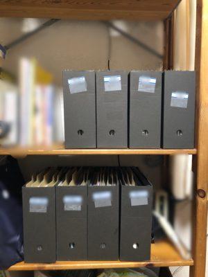 書類整理 書類収納 ホームファイリング