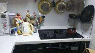 キッチン コンロ周り 収納