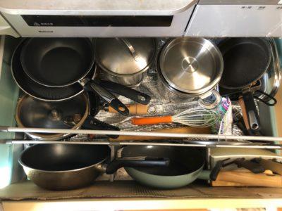コンロ下収納 キッチン