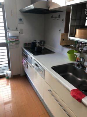キッチン収納 ビフォーアフター