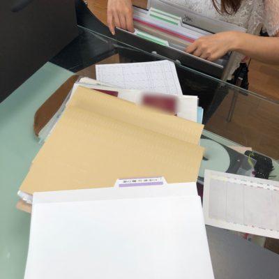 家庭の書類整理 おうち ファイリング