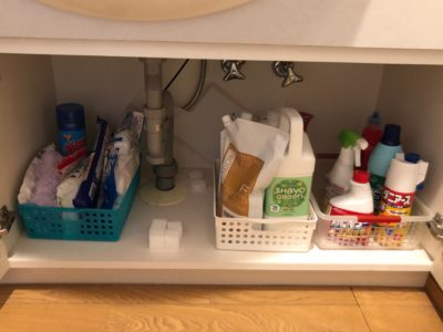 洗面台下 洗面収納