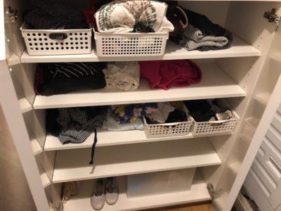 洗面所棚 洗面収納 衣類