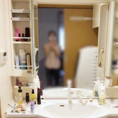 洗面所収納 鏡裏収納