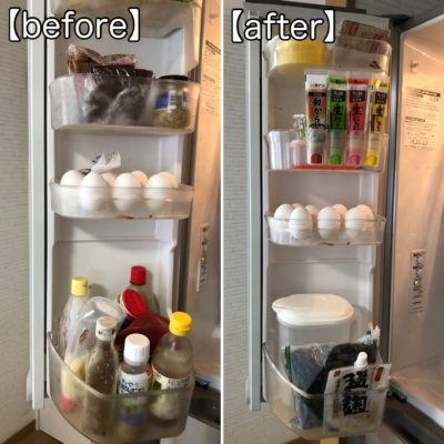冷蔵庫 ドアポケット 収納