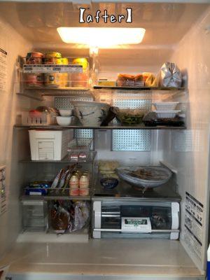 冷蔵庫 片付け ビフォアフター