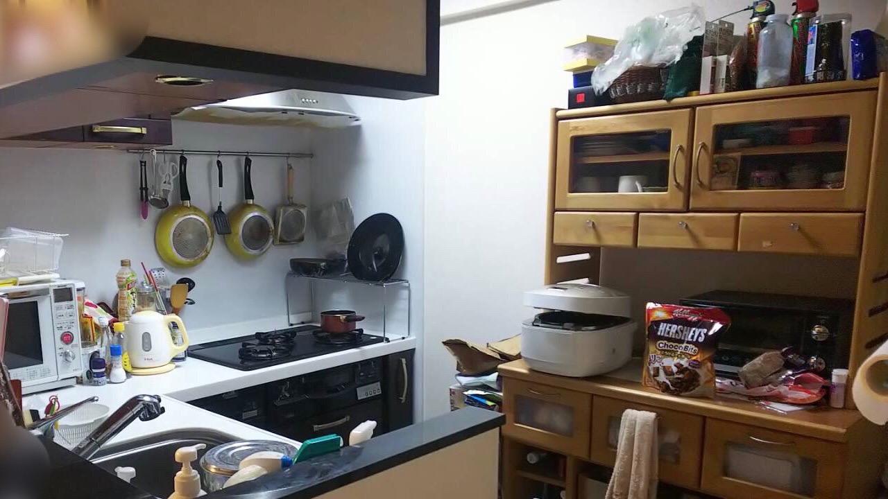 キッチン 整理収納 ビフォーアフター
