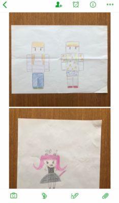 子供の絵 保管方法