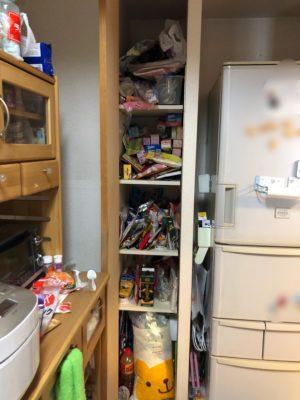 食品ストック パントリー 収納庫