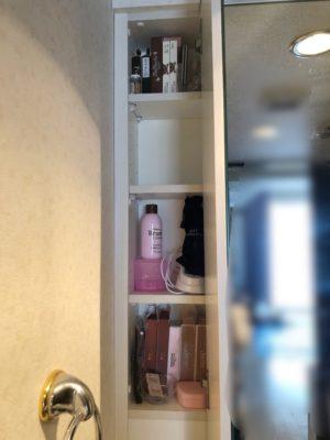 洗面鏡裏収納 洗面棚収納