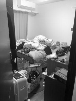 寝室 ビフォーアフター