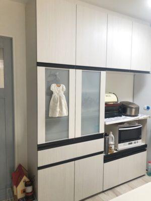 キッチン 背面収納