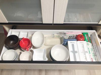 食器棚 引き出し ビフォーアフター