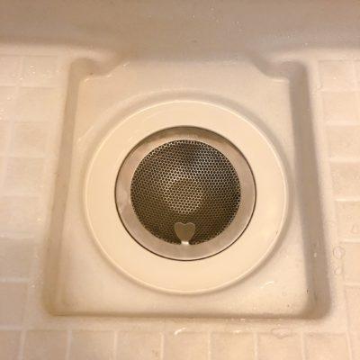 浴室 排水溝ゴミ受け