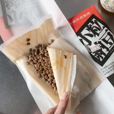 納豆 プラスチックフリー