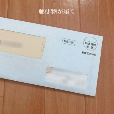 郵便物 書類