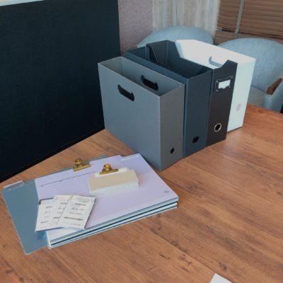 ファイルボックス 個別フォルダー