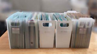 書類整理サポート 3年間手をつけられなかった書類整理ができた