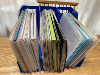 書類整理 書類の分類